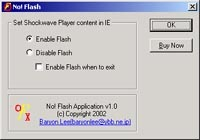 No! Flash