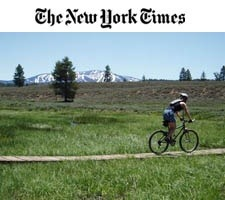 Invisible Gold Customer Tahoe Adventure Company Featured in the New York Times