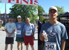 September 23rd, 2007 - Windsor, CT - Invisible Gold sponsors team for the First Annual Tavern Trot